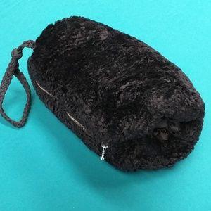 H&M  fake chinchilla purse muff